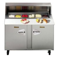 Traulsen UPT4818-LR 48 inch Sandwich / Salad Prep Refrigerator with Left / Right Hinged Doors