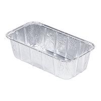D&W Fine Pack 15640 1 1/2 lb. Aluminum Foil Loaf Pan - 500 / Case