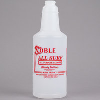 32 oz. Labeled Bottle for Noble Chemical All Surf All Purpose Cleaner (IMP 5032WG)