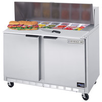 Beverage Air SPE48-10 48 inch Refrigerated Salad / Sandwich Prep Table
