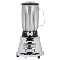 Waring BB900S 1/2 hp 2 Speed Chrome Commercial Bar Blender with 32 oz. Stainless Steel Container - 120V
