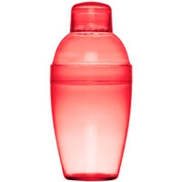 Fineline Quenchers 4101-RD 7 oz. Red Plastic Shaker 24 / Case