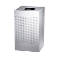 Rubbermaid SC18 Silhouettes Stainless Steel Designer Waste Receptacle - 40 Gallon (FGSC18SSPL)