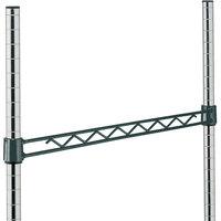 Metro H114-DSG Smoked Glass Hanger Rail 14 inch