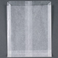 Bagcraft Papercon 91-265-DC White Wet Wax Sandwich Bag - 1000 / Box