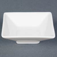 CAC CTY-34 Citysquare 4.5 oz. China Square Bowl 48/Case