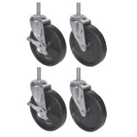 Beverage Air 61C01-014D-01 6 inch Replacement Casters - 4 / Set