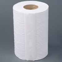 Lavex Janitorial Junior 2-Ply White Center Pull Paper Towel 264' Roll - 12/Case