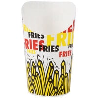 Dart Solo GSP80-83013 9 oz. Paper French Fry Scoop Cup 600/Case