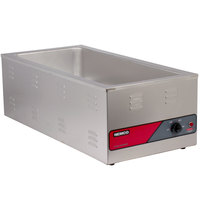Nemco 6055A-43 4/3 Size Countertop Food Warmer with 31 inch Long Exterior - 120V, 1500W