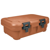 Cambro UPCS140157 Coffee Beige S-Series Ultra Food Pan Carrier Insulated Top Loading Deep