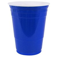 Dart Solo P16BRL-00001 Blue 16 oz. Plastic Cup 1000 / Case