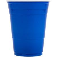 Dart Solo P16B 16 oz. Blue Plastic Cup - 1000/Case