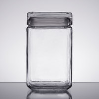 Anchor Hocking 85588R 1.5 Qt. Stackable Square Jar