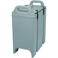 Cambro 350LCD401 Camtainer 3.375 Gallon Slate Blue Insulated Soup Carrier
