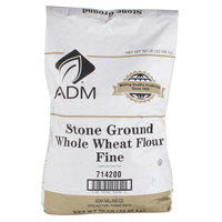 Fine Whole Wheat Brown Flour - 50 lb.