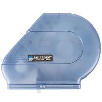 San Jamar R3000TBL Reserva Classic 9 inch-10 1/2 inch Jumbo Toilet Tissue Dispenser - Arctic Blue
