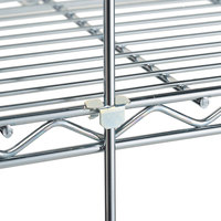 Metro R52C 52 inch Chrome Wire Shelving Rod