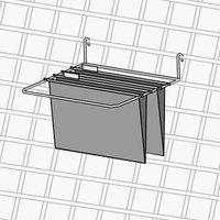 Metro PBA-PFH Smartwall G3 Hanging File Folder 6 1/4 inch x 12 1/2 inch