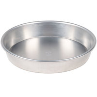 American Metalcraft HA90081.5 Tapered / Nesting Heavy Weight Aluminum Pizza Pan - 8 inch x 1 1/2 inch
