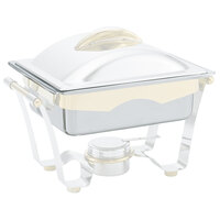 Vollrath 46441 Replacement Stainless Steel Water Pan for 4.2 Qt. Half Size Panacea and Maximillian Steel Chafers