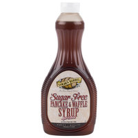 Golden Barrel Sugar Free Pancake and Waffle Syrup 24 oz. Bottle