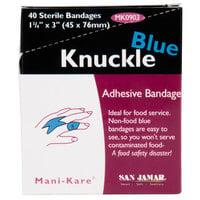 San Jamar MK0903 Mani-Kare Knuckle Bandage - 40 / Box