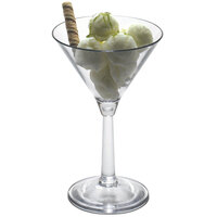 Cambro BWM10CW Aliso 10.5 oz. Polycarbonate Martini Glass - 12/Case