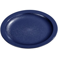 Carlisle PCD21050 Blue 10 inch Polycarbonate Narrow Rim Plate 48 / Case