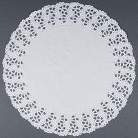 Hoffmaster 500260 16 1/2 inch Lace Doily - 500 / Case