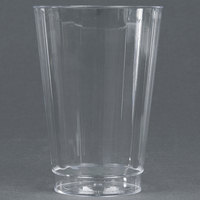 WNA Comet CC14240 Classicware 14 oz. Tall Clear Plastic Fluted Tumbler - 20 / Pack