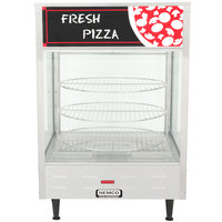 Nemco 6451 Rotating 3-Tiered Pizza Merchandiser 18 inch Racks 120V