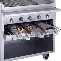 Bakers Pride 21884847-72R Radiant Charbroiler Stainless Steel Smoke Box