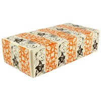 5 1/2 inch x 2 3/4 inch x 1 3/4 inch 1-Piece 1/2 lb. Halloween Candy Box - 250 / Case