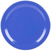 Carlisle 4350014 Dallas Ware 10 1/4 inch Ocean Blue Melamine Plate - 48/Case