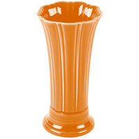 Homer Laughlin 491325 Fiesta Tangerine 9 5/8 inch Medium Vase - 4 / Case