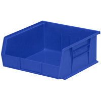 Metro MB30235B Blue Stack Bin 10 7/8 inch x 11 inch x 5 inch