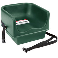 Cambro 100BCS519 Green Single Seat Booster Chair with Strap