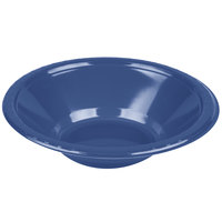 Creative Converting 28113751 12 oz. Navy Blue Plastic Bowl - 240/Case