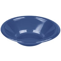 Creative Converting 28113751 12 oz. Navy Blue Plastic Bowl - 240 / Case