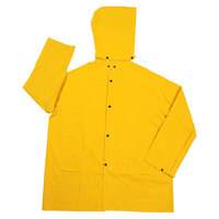 Yellow 2 Piece Rain Jacket - 3XL