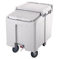 Cambro ICS125L180 Light Gray Sliding Lid Portable Ice Bin - 125 lb. Capacity