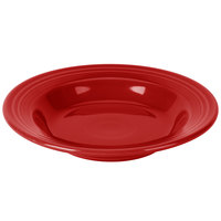 Homer Laughlin 451326 Fiesta Scarlet 13.25 oz. Rim Soup Bowl - 12/Case