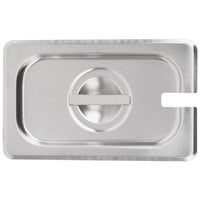 Vollrath 75460 Super Pan V 1/9 Size Slotted Stainless Steel Steam Table / Hotel Pan Cover
