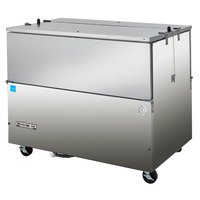 Beverage Air ST58N-S Stainless Steel Milk Cooler 2 Sided - 58 inch