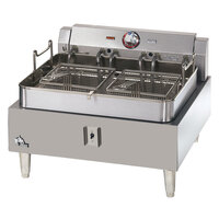 Star Max 530FF-CSA 30 lb. Commercial Countertop Deep Fryer - 11,500W (Canadian Use Only)