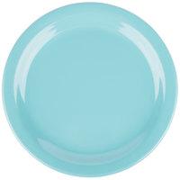 Carlisle 4385463 Turquoise Dayton 7 1/4 inch Melamine Salad Plate - 48/Case