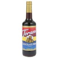 Torani 750 mL Chocolate Mint Flavoring Syrup