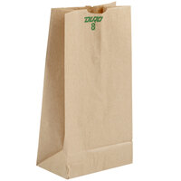 8 lb. Brown Paper Bag 500/Bundle
