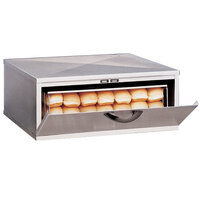 APW Wyott BH-1A Dry Hot Dog Bun Holder - Holds 36 Buns
